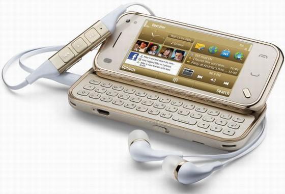 ... di lanciare sul mercato una versione di N97 Mini : la Gold Edition