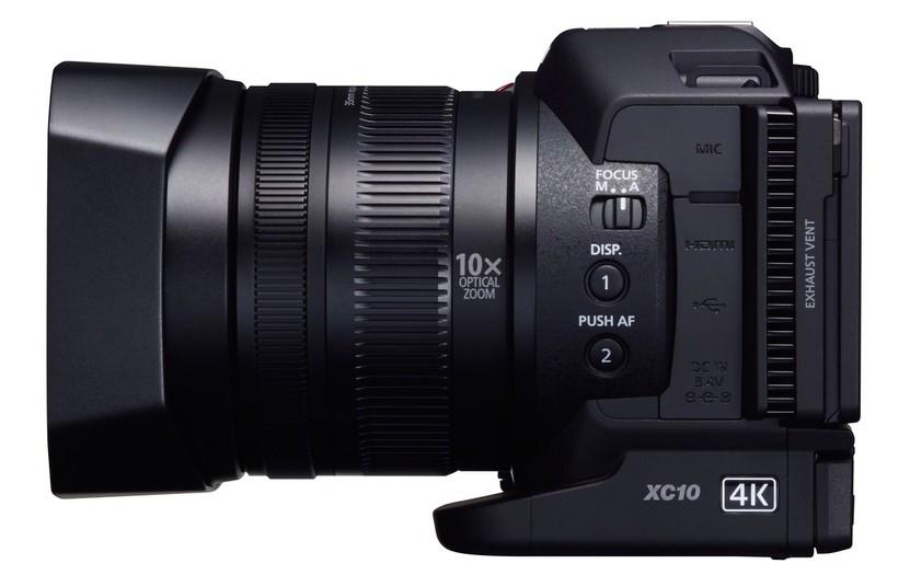 Canon lancia la videocamera ultra hd compatta con sensore for Microfono esterno yi 4k