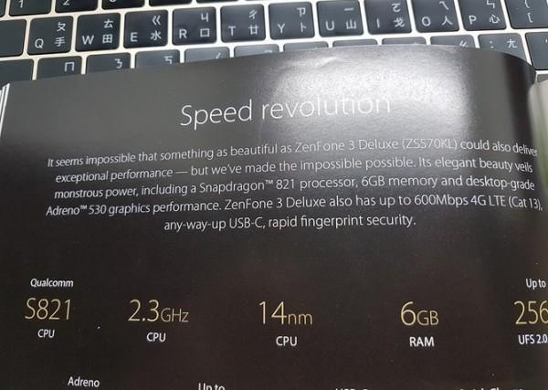 Asus Zenfone 3, rivelate specifiche tecniche smartphone Deluxe e Ultra