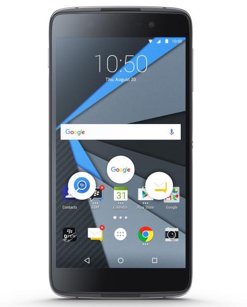 BlackBerry presenta DTEK50, il nuovo smartphone Android