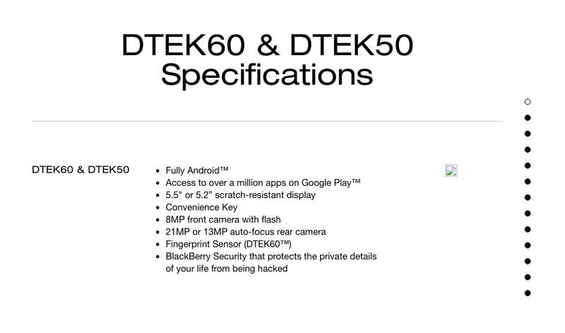BlackBerry DTEK60: info interessanti sul prossimo top di gamma