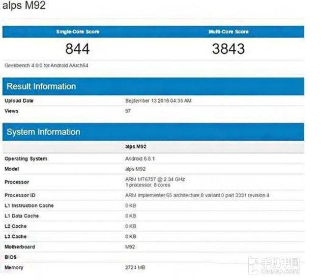 Smartphone Meizu misterioso svelato dai leaks
