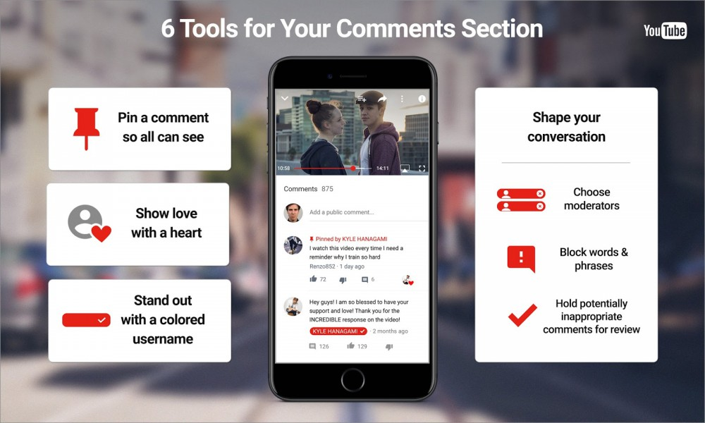 YouTube cambia la sezione commenti per permettere maggiore interazione