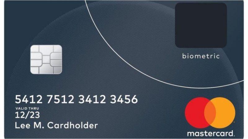 MasterCard, carte di credito con lettore per le impronte
