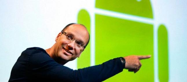 Andy Rubin sta sviluppando uno smartphone top di gamma per competere con iPhone