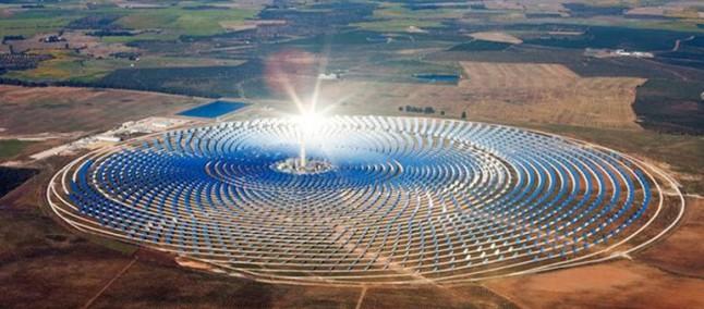 Noor1 in funzione la pi grande centrale solare del mondo in marocco - Centrale solare a specchi ...