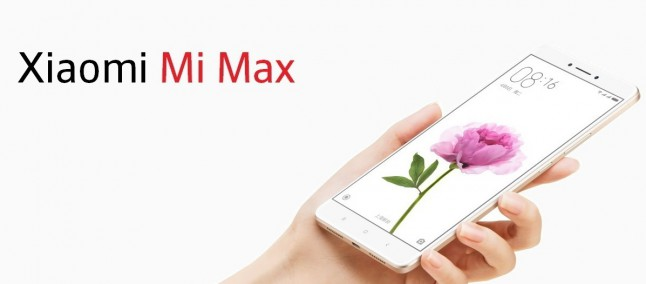 """Xiaomi Mi Max Prime: display da 6.44"""", processore Snap 652 e 4GB di memoria RAM"""