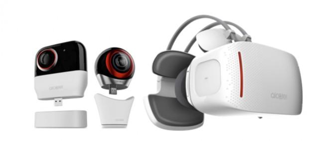 Alcatel presenta il suo nuovo visore Vision e la Alcatel 360 Camera