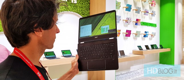Acer Spin 7 con Kaby Lake: analisi hardware e temperature | Video