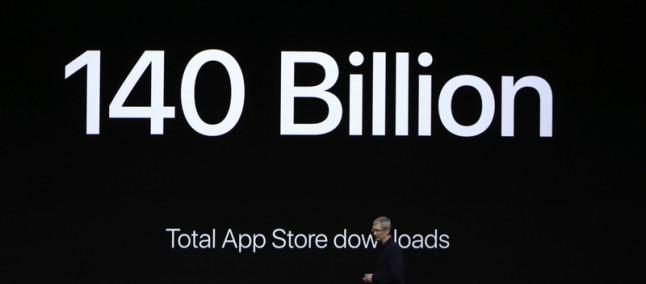 App Store continua a crescere e raggiunge i 140 miliardi di download