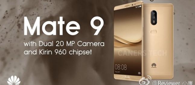 Huawei Mate 9 potrebbe avere uno scanner dell'iride