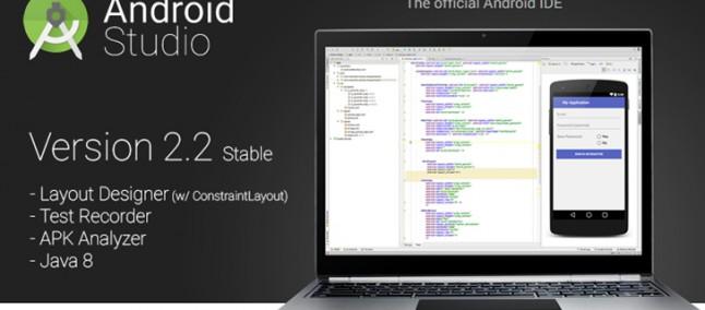 Android Studio v2.2: nuovo layout editor, apk analyzer e molto altro