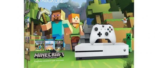 Microsoft annuncia un nuovo bundle per Xbox One S e Minecraft