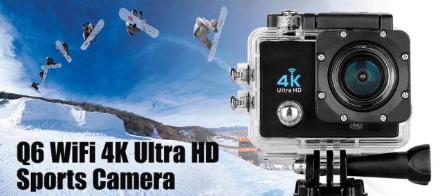 Action Cam 4K 30fps a 35€ spedita? Si può fare! (e con tanti accessori inclusi)