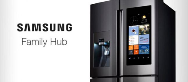 Il frigo smart family hub di samsung presto compatibile for Nuovo frigo samsung
