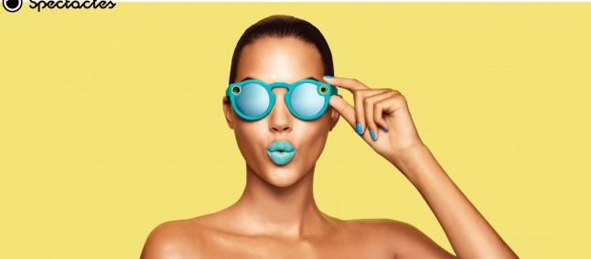 Snapchat Spectacles, gli occhiali connessi che registrano video circolari