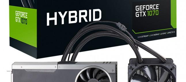 EVGA annuncia la GeForce GTX 1070 FTW Hybrid, costa 500$