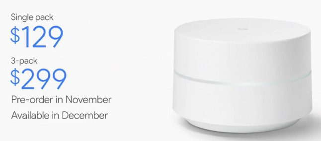 Google presenta il nuovo router intelligente Google WiFi