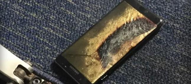 Un Galaxy Note 7 ha preso fuoco su un volo della Southwest, era stato rimpiazzato