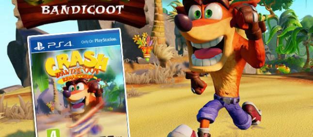 Crash Bandicoot Remastered, appare in rete la presunta data di uscita