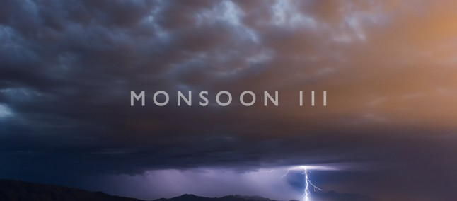 Un video in time-lapse mostra i Monsoni in Arizona a risoluzione 4K