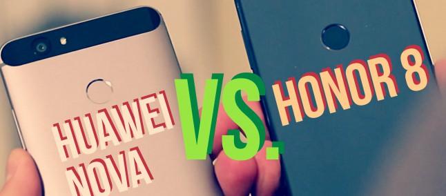 HONOR 8 vs HUAWEI NOVA: listino uguale ma DNA diverso #CONFRONTO   HDblog