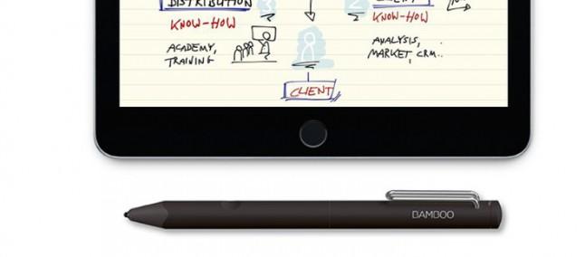Wacom presenta la nuova Bamboo Fineline, stilo per iPhone e iPad