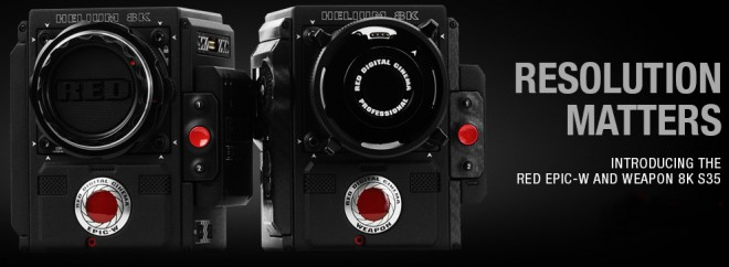 RED lancia le videocamere 8K EPIC-W S35 e WEAPON S35 (video)
