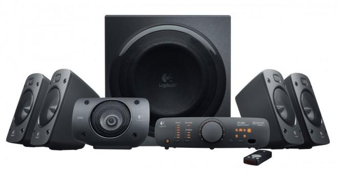 Logitech Z906 Sistema Altoparlanti stereo 3D, 500 Watts Dolby Surround 5.1 in offerta oggi