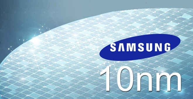 Samsung comincia a produrre i suoi processori a 10 nm
