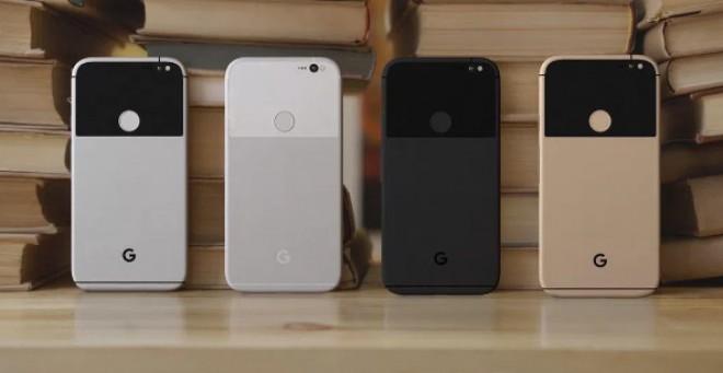 Google Pixel e Pixel XL immaginati in quattro possibili varianti cromatiche