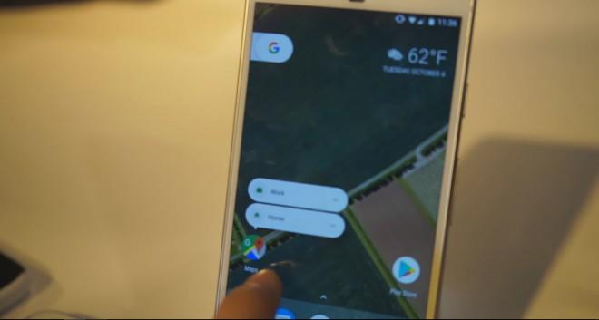 Android 7.1, un video mostra le scorciatoie delle applicazioni su Pixel Launcher
