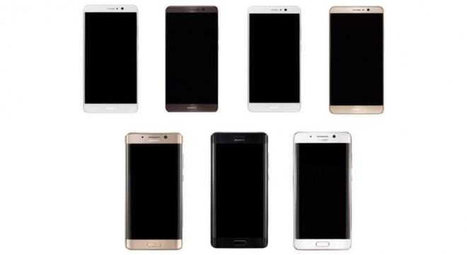 Huawei Mate 9, trapelano i render delle varianti 'edge' e 'flat': assomiglia a...