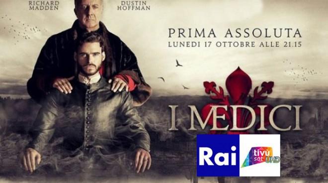 """La fiction """"I Medici"""" sarà trasmessa anche su Rai 4K"""
