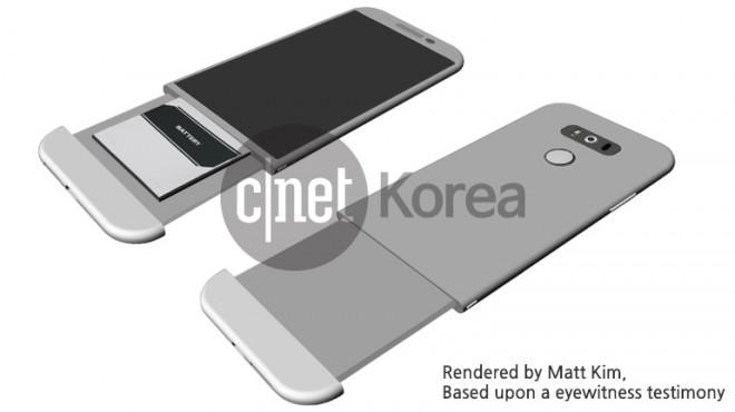 LG G5 caratteristiche, batteria modulare e corpo in metallo