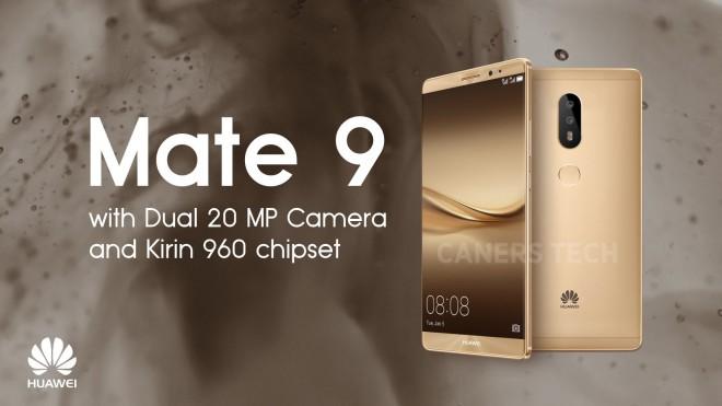 Nuove foto di Huawei Mate 9, doppia fotocamera posteriore confermata