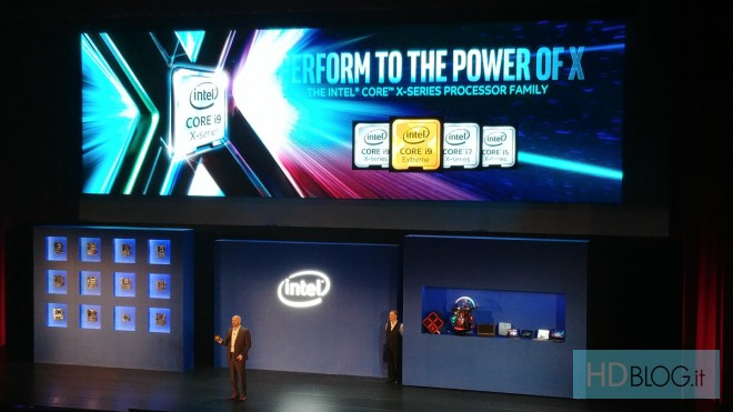 I nuovi processori Intel Core X-Series