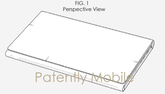 Samsung, depositato un nuovo brevetto di tablet pieghevole con tastiera integrata