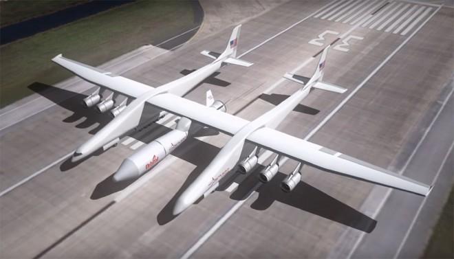 Aereo Privato Piu Grande Al Mondo : Stratolaunch è l aereo più grande del mondo primi test di