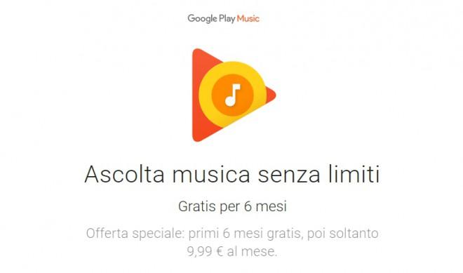 Google Play Music estende il periodo di prova gratuita fino a 6 mesi