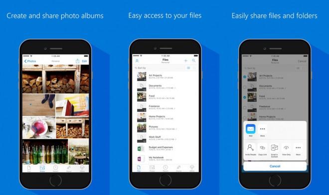 OneDrive si aggiorna su iOS con la condivisione dei file dentro le conversazioni