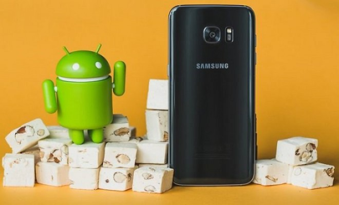 Android 7.0 Nougat su Galaxy S7, le prime build sono già in test