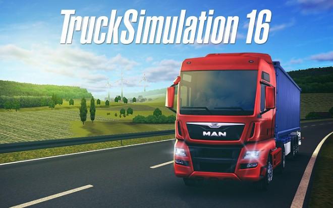 Trucksimulation 16 disponibile per android ed ios un - Foto di grandi camion ...