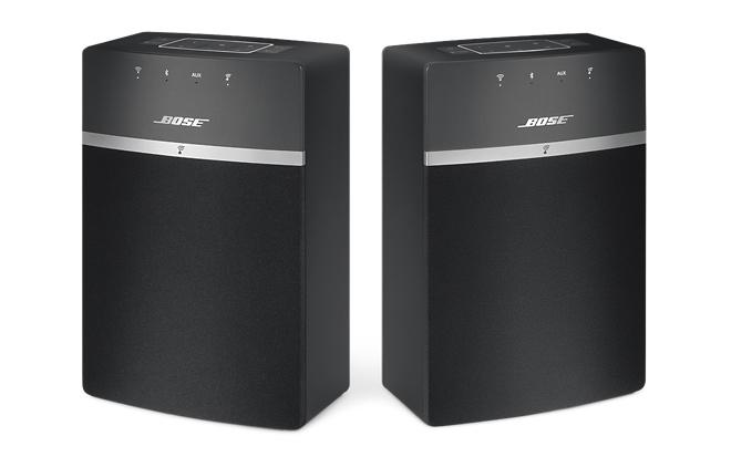 Bose sconta 60€ sull'acquisto di due speaker wireless SoundTouch 10