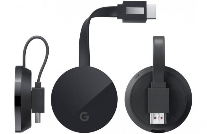 Questo è il Google Chromecast Ultra 4K!
