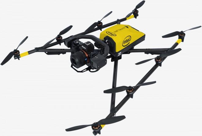 Intel annuncia Fantom 8+, drone commerciale che sfreccia a 56 Km/h