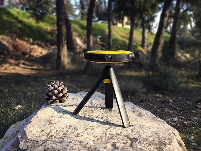 Vuze VR è la videocamera per realizzare filmati a 360°
