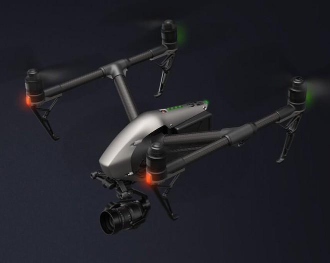 """DJI Inspire 2 è il drone per i """"videomaker"""" (video)"""