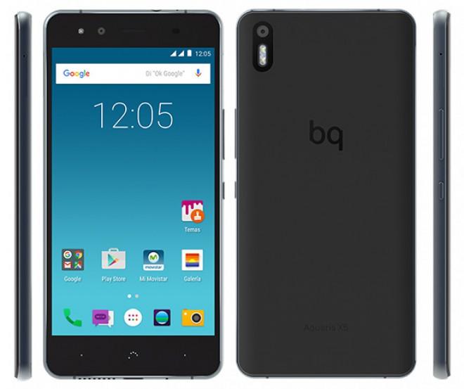 BQ Aquaris X5: Cyanogen OS 12.1, Snapdragon 412 e 2GB di ...