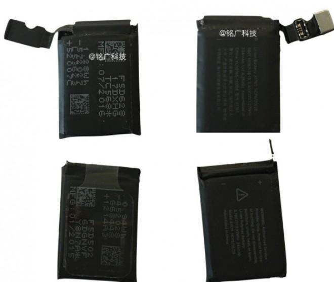 Apple Watch 2, batteria più grande del 35%